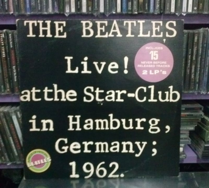 THE BEATLES / LIVE AT THE STAR CLUB (2LP)