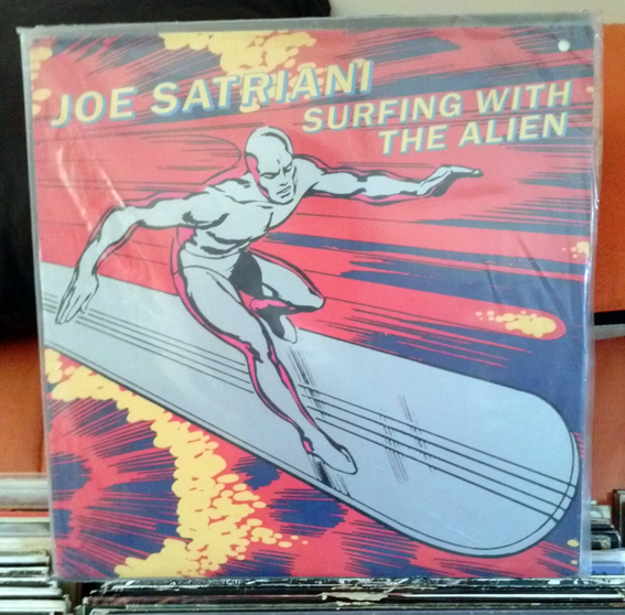 JOE SATRIANI / SURFING WITH THE ALIEN